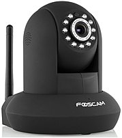 Foscam Indoor Wireless, Cable Network Camera Black FI9821P