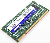 ADATA Technology Co. ADOVF1A083F2G 1 GB Memory Module - DDR2-800 MHz - PC2-6400 - 200 Pin - Non-ECC