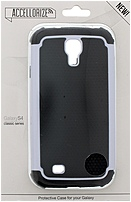 Accellorize Classic Series 890968161130 16113 Case for Samsung Galaxy S4 - Black, White