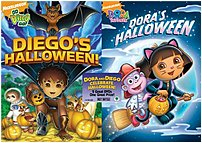 Nickelodeon 097360721508 Dora And Diego Celebrate Halloween