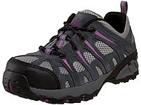 Nautilus Footwear N1754 Womens Composite Toe Safety Shoe - 8.5 Size - Grey, Lavender