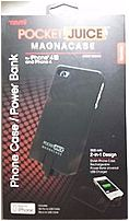 Tzumi Pocket Juice 817243034613 3461 Magnacase Power Bank For Iphone 4/4s - Black