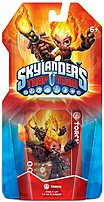 The Activision Blizzard 84998 Skylanders Trap Team  Torch's childhood was spent working with her grandfather as a dragon keeper where she helped tend to a stable of dragons that protected her village