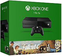 Own the Xbox One Microsoft KF7 00096 Fallout 4 Bundle, featuring a 1 TB hard drive, Fallout 4, and a full game download of Fallout 3