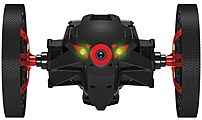 Parrot PF724001-GWP MiniDrones Jumping Sumo - Bot - RC - Wi-Fi - Black PF724001-GWP