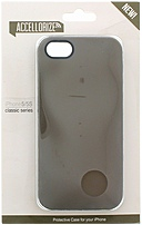 Accellorize Classic Series 890968003003 00300 Case for iPhone 5/5S - Taupe