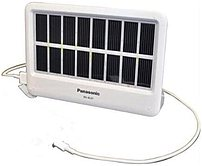 Panasonic Bg-bl01aa Solarsmart Portable Solar Charger With Led Light For Mobile Devices - Usb - 2 X Aa Ni-mh Battery Power Slots (included) - White