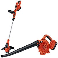 Black And Decker Ncc218 18 V Cordless Trimmer And Sweeper Outdoor Combo Kit - 2 X Ni-cd Battery (included)