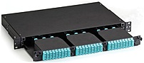 Black Box FOEN50HD-3H-1U High-Density Fiber Optic Enclosure - 3 x HD Slots in 1U