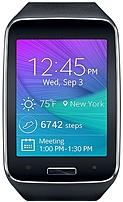 Samsung Galaxy Gear S Sm-r750azkaatt Smartwatch - 4 Gb Memory - 2-inch Display - At&t - Tizen - Charcoal Black