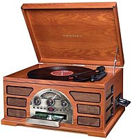 Crosley CR66 PA Rochester 5 in 1 Stereo Turntable Sound System Paprika