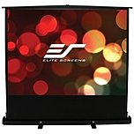 P ez Cinema Plus F68XWS1 Portable Projection Screen is the deluxe version of our popular ezCinema floor pull up screen