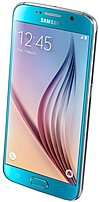 Samsung Galaxy S6 737989980077 Sm-g920i Unlocked Smartphone - Gsm 850/900/1800/1900 Mhz - Bluetooth 4.1 - 5.1-inch Display - 32 Gb Memory - 16.0 Megapixels Camera - Android 5.0.2 Lollipop - Blue Topaz
