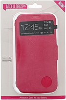 Accellorize Classic Series 890968161185 16118 Case for Samsung Galaxy S4 - Pink