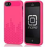 Incipio Frequency Semi Rigid Soft Shell Case for iPhone 5 - Cherry Blossom Pink - Pattern - Polymer
