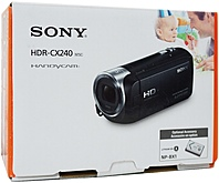 Sony Hdr-cx240/b 9.2 Megapixels Full Hd Handycam Camcorder - 27x Optical/320x Digital Zoom - 2.7-inch Lcd Display - 29.8 Mm Wide-angle Lens - Black