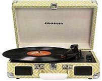 Crosley Cr8005a-ye Cruiser Portable Turntable - Honeysuckle
