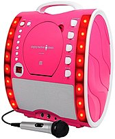 The Singing Machine Classic Series SML343P CD   Graphics Karaoke System blows the roof off your mothers karaoke, pumping your favorite music out of a lightweight package