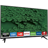 VIZIO D D65U D2 65 inch 4K Ultra HD LED Smart TV 3840 x 2160 240 Clear Action Rate Wi Fi HDMI