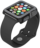 The Speck Products SPK A4164 CandyShell Fit Case provides full bezel protection in a protective Apple Watch 42 mm case that's designed to make an impact, and take one