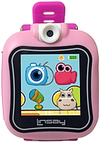Linsay S-5wclpink Kids Smartest Watch On Earth With Hd 90 Degree Angle Selfie Camera - Pink