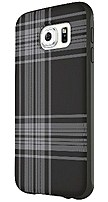 Belkin F8m994btc00 Mixit Case For Samsung Galaxy S6 - Black Plaid