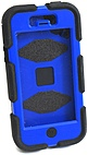 Griffin Survivor Carrying Case (Holster) for iPhone - Black, Blue - Dirt Resistant, Sand Resistant, Vibration Resistant, Shock Absorbing, Water Resistant, Shatter Resistant, Drop Resistant, Rain Resis