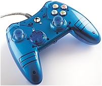 Power A 1350556 01 Xbox One Liquid Metal Wired Controller Blue
