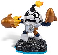 The Activision Blizzard 84910 Skylanders SWAP Force  Kickoff Countdown was discovered by a group of Yetis who were snowboarding one particularly chilly morning when they came across a big bomb encased in ice