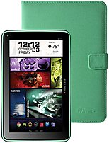 Visual Land Prestige Elite 7q Me7qkc8gbgrn 7-inch Tablet Pc With Keyboard Bundle - 1.2 Ghz Quad-core - 1 Gb Ddr3 Sdram - 8 Gb Storage - Android 4.4 Kitkat - Green
