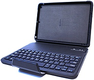 Griffin GB39723 TurnFolio Keyboard/Cover Case (Folio) for iPad Air - Black - Drop Proof, Shock Absorbing