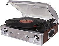 Crosley CR6005A MA Tech Turntable Audio System Mahogany
