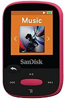 Sandisk Clip Sport Sdmx24008ga46p 8 Gb Flash Mp3 Player - Pink