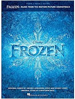 Hal Leonard 888680004194 Disney Frozen Music Book