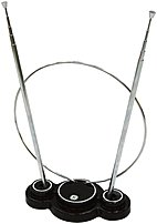Ge 24731 Omni Tv Antenna - Passive - Black