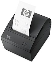 HP FK224ATABA Smart Buy USB Single Station Direct Thermal Receipt Printer - 203 dpi - 74 lps - Monochrome - 512 KB