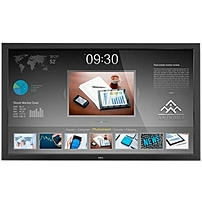 """NEC's 46"""" V463 TM touch integrated large screen LCD display offers digital signage users touchscreen capabilities at a cost conscious price"""