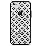 X Doria Scene Plus for iPhone 5C iPhone Black Diamonds Translucent Rubber Polycarbonate 422871