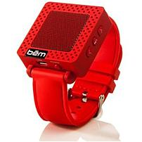 Bem Speaker System - Portable - Battery Rechargeable - Wireless Speaker(s) - Red - Bluetooth - Usb - Usb Charging Port, Built-in Battery, Built-in Microphone, Rechargeable Battery Hl2331c