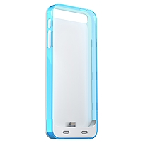 Mota Iphone 5/5s Extended Battery Case - Blue - Mfi, Iphone - White, Clear, Blue Ap5-30b