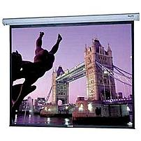 "Da-lite Cosmopolitan Electrol Projection Screen - 69"" X 92"" - High Contrast Matte White - 120"" Diagonal 92576"
