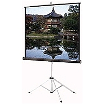"Da-lite Picture King Portable And Tripod Projection Screen - 45"" X 80"" - Matte White - 92"" Diagonal 86017"