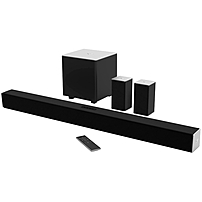 VIZIO 5.1 Sound Bar Speaker - Table Mountable, Wall Mountable - Wireless Speaker(s) - 60 Hz - 19 kHz - Dolby Digital, DTS Circle Surround, DTS Studio Sound, DTS TruVolume, DTS Digital Surround, DTS Tr