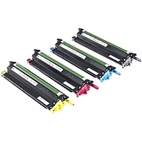 Dell Imaging Drum Kit for C3760n/ C3760dn/ C3765dnf Color Laser Printers - 60000 Page - 4 Pack