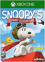 Activision 047875770843 77088 Peanuts Movie Snoopys Grand Adventure Xbox One