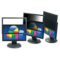 3M PF324W9 Framed Privacy Filter for Widescreen Desktop LCD Monitor - 24-inch Monitor