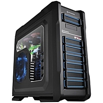 P Chaser A71 LCS full tower hardcore gaming chassis, conceptually designed for gamers to gear with the latest gaming component, offering not only style and personality but more likely a solution with full integration of water cooling system and case