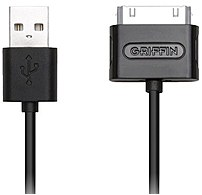 Power And Co Rd17059 3 Feet Usb Cable - 1 X Usb Male, 1 X 30-pin Apple Dock Connector Male - Black