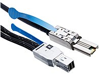 HP HP 2.0m External Mini SAS High Density to Mini SAS Cable - SAS - 6.56 ft - Mini-SAS - Mini-SAS
