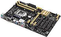 The Asus B85 PLUS 90MB0EG0 M0EAY0 ATX Motherboard guards your PC with 5X Protection